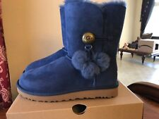 UGG W Bailey Button Puff, DKDN, Navy, Size 8 M