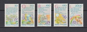 S25524) Dealer Stock Vatican MNH 1986 Int. Year Of Peace 5v (X10 Sets)