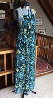 SUGAR LIPS Long Floral Maxi Dress Women's Medium