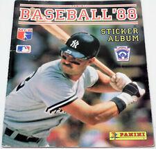 1988 Panini Baseball Sticker Album