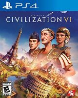 NEW Sid Meier's Civilization VI 6 PS4 PlayStation 4 Game