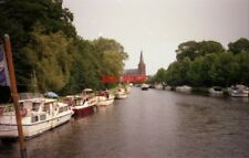 PHOTO  NETHERLANDS ON RIVER VECHT 1991 VIEWS ON THE RIVER v7