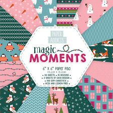 Dovecraft Paper Addicts 6x6 - Christmas Magic Moments - 30 sheets