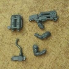 Imperial Guard Catachan Command Heavy Flamer Bits