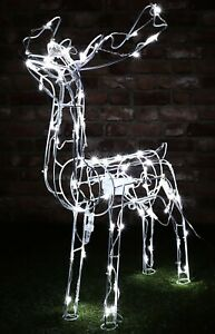 Christmas Concepts®79cm Light Up Reindeer with White LED Lights(RL83094A)