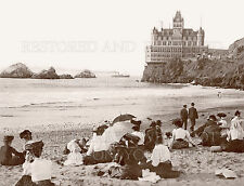 San Francisco CA Cliff House beach boat 1906 photo CHOICE 5x7 or request 8x10 or