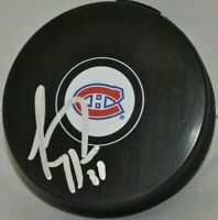 Carey Price 2008-2020 Montreal Canadiens Signed Autographed NHL Hockey Puck COA