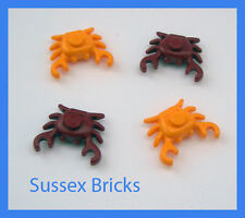 Lego Food Animal Water - 4x Crab - City Pirates Castle Hobbit - New Pieces