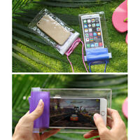 For iPhone Samsung HTC Waterproof Phone Case PVC Anti-Water Pouch Dry Bag Cover