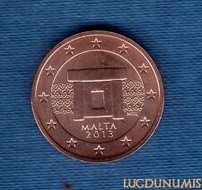 Malte 2013 - 5 Centimes D'Euro - Pièce neuve de rouleau - Malta