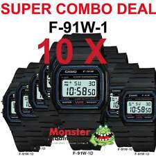 COMBO DEAL FREE POST FROM SYDNEY CASIO RETRO 10 x F-91W-1