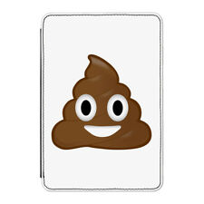 Poop Emoji Case Cover for Kindle Paperwhite - Funny Cartoon Face