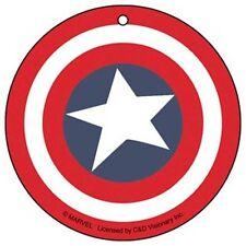 MARVEL COMICS CON LICENCIA Captain America Shield Air Ambientador Nuevo Coche
