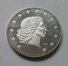 1981 World Wide Mint Vintage Silver Eagle 1 oz .999 Silver Round
