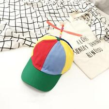 Propeller Bamboo Dragonfly Hat Colourful Cotton Funny Baseball Cap