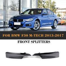 Carbon Fiber Front Bumper Splitters Factory For BMW F30 M Sport M Tech 13-17
