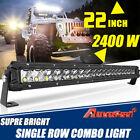 22inch 2400W Led Light Bar Spot Flood Combo Offroad Boat UTE Truck SUV ATV 20'' <br/> 2021 New⭐Autofeel R&D direct sales⭐Free return⭐Has vide