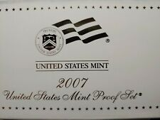 2007-S US Proof Mint Set 14 Coins CLAD 20rwt0404