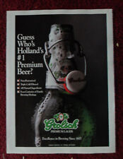 1993 Print Ad Grolsch Premium Lager ~ Holland's #1 Premium Beer