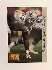 1993 Pro Line Previews #3 - Russell Maryland - Dallas Cowboys