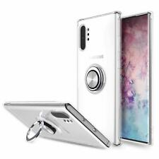 For Galaxy Note 10+ Plus Case Slim Dual Layer Hybrid Defender Armor Rotating