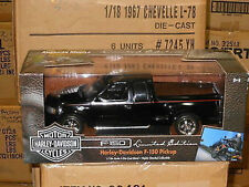 "1:18 Ertl # 32389 ""american muscle"" ford f150 Harley Davidson PM Edt. (Black)"