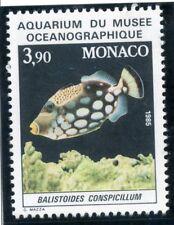 STAMP / TIMBRE DE MONACO N° 1486 ** FAUNE / POISSON / BALISTOIDES CONSPICILLUM