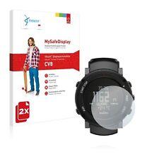 Suunto Core Alu Deep Black, 2x Vikuiti™ MySafeDisplay Screen Protector CV8 - 3M