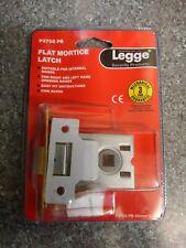 """Flat Mortice Latch Legge 3708 PB   64mm 2.5"""" PB Flat Patt (3708-PB)"""