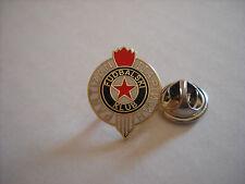 a1 PARTIZAN BEOGRAD FC club spilla football calcio фудбал pins badge игле serbia