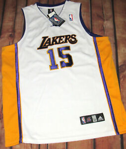 100% Authentic Adidas LA Lakers Ron Artest Jersey SZ 54 Alternate New