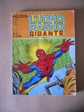 Raccolta L' UOMO RAGNO GIGANTE n°3 1980 Edizioni Corno [G490]
