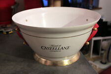 SPENDID BIG METAL BUCKET / BOWL DOUBLE MAGNUM  FRENCH CHAMPAGNE CASTELLANE