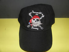 SURRENDER THE BOOTY- PIRATE THING HAT FROM BVI  AT NORMAN ISLAND