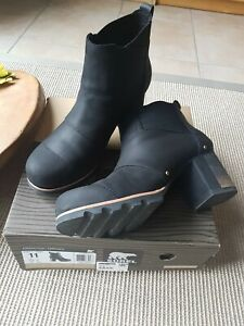 Sorel Addington Chelsea Stiefeletten schwarz ,Gr.42 absolut neuwertig