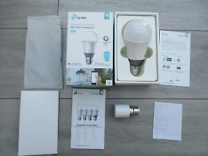 TP-LINK Kasa Smart LB130 WiFi Colour Changing LED Light Bulb Alexa Google