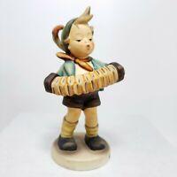 """6"""" Goebel Hummel Figurine Accordion Boy 185"""