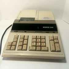 VTG Monroe 2145 Printing Calculator, Made in Japan. Vintage