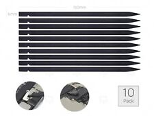 10x Nylon Black Plastic Spudger Opening Repair Tool Pry Bar iPhone 4/5/8/X/iPad