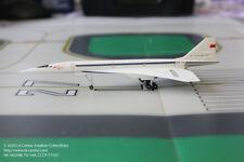 Herpa Wings Aeroflot Tupolev TU-144 Supersonic Soviet Color Diecast Model 1:400