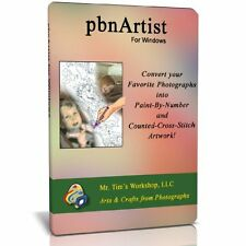 pbnArtist(tm) Advanced for Windows - Paint By Numbers and Cross Stitch software