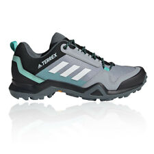 adidas Womens Terrex AX3 Walking Shoes Grey Sports Outdoors Breathable