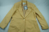 Vintage White Stag Womens 8 Yellow Wool Jacket NWT VTG D4025