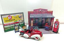 Diorama Pedal Car - Garage
