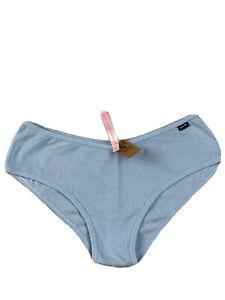 Victoria's Secret Pink  Cotton Cheekster  V Shape Ribbed Bikini Size Large New