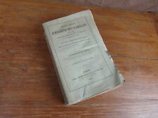 F. DEVAY / TRAITE SPECIAL D HYGIENE DES FAMILLES Maladies Hereditaires LABE 1858