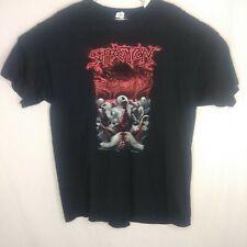 Suffocation Men's XL Black Short Sleeve Band T-Shirt
