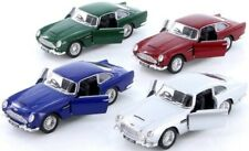 KINSMART PULL BACK ASTON MARTIN DB5 - TY4141 TOY CAR WIND UP DIECAST METAL RETRO