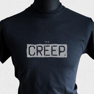 Creep T Shirt Radiohead Inspired Unofficial Tee Pablo Honey Weirdo Cool Black