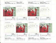 ESLOVENIA Slovenia EUROPA cept 1993 ** MNH Sheets